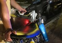 Tạm giữ 70 xe máy đua xe, lạng lách tại lễ hội Dinh Cô