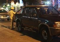 Bị kiểm tra, tài xế Uber bỏ xe giữa đường