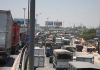 Kẹt xe kéo dài từ Đồng Nai tới TP.HCM