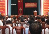 Nghệ An: Kỷ luật trưởng Ban Tổ chức Huyện ủy và kiểm điểm sáu cán bộ