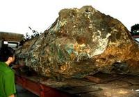 Tự khai thác hòn đá 30 tấn trong vườn nhà: Bị phạt 550 triệu đồng