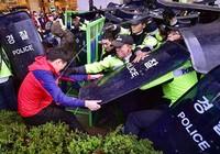 Cảnh sát Hàn Quốc sẽ truy tố người tổ chức biểu tình