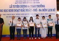 130 học sinh nhận giải quốc gia môn lịch sử