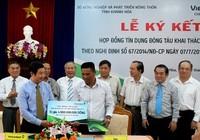 Ngư dân đầu tiên của Khánh Hòa vay 5 tỉ đồng đóng mới tàu cá