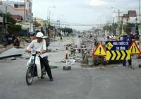Dân cản thi công mở rộng quốc lộ 1A