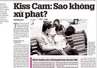 Dừng ngay Kiss Cam phản cảm!