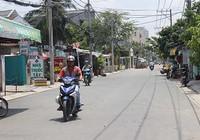 Dời trụ điện dưới lòng đường