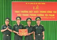 Bộ đội biên phòng được khen thưởng về thành tích chống buôn người