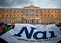 Thế phân tranh trưng cầu ý dân Hy Lạp