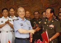 Phái đoàn quân sự Campuchia đến Trung Quốc, vì sao?