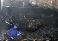 Cháy lớn thiêu rụi một xưởng sản xuất
