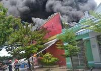Cháy xưởng sơn, thiệt hại 10 tỉ đồng