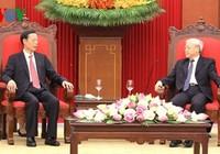 Tổng Bí thư tiếp phó thủ tướng Trung Quốc