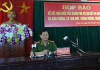 Vụ thảm sát ở Nghệ An: Mâu thuẫn bột phát, dùng dao giết người
