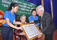 63 mẹ nhận danh hiệu 'Bà mẹ Việt Nam anh hùng'