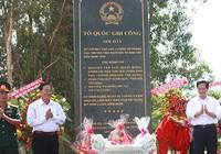 Thủ tướng dự lễ dựng bia di tích Sở Chỉ huy các lực lượng vũ trang