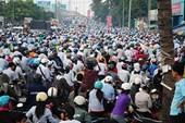 Trạm thu phí gây kẹt xe cầu Đồng Nai
