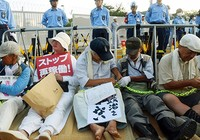 Dân Nhật phản đối điện hạt nhân