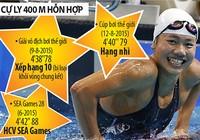 HCB cúp thế giới của Ánh Viên 'không bằng' hạng 10 giải VĐTG