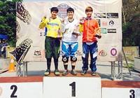 Tay đua Quàng Thị Soan giành HCĐ châu Á