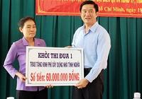 Sở Tư pháp TP.HCM trao tặng kinh phí xây nhà tình nghĩa