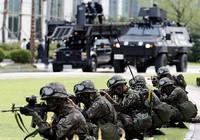 Hàn Quốc diễn tập bắn đạn thật pháo binh