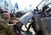 Lựu đạn nổ trước tòa nhà Quốc hội Ukraine