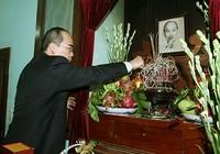 Lãnh đạo Đảng, Nhà nước dâng hương tưởng niệm Hồ Chủ tịch
