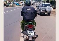Truy tìm xe máy mang biển số 'khủng' 888.88