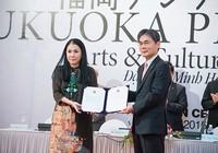 Nhà thiết kế Minh Hạnh nhận giải thưởng Fukuoka