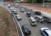 Bảo vệ người đi xe máy ở đường dẫn cao tốc
