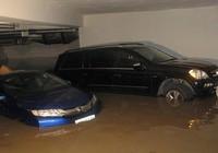 Nước ngập nhà xe, ai chịu trách nhiệm?