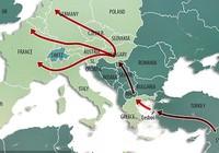 Hungary rào biên giới với Croatia