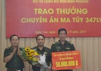 Bắt lượng ma túy lớn từ Lào vào Nghệ An