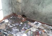 Phòng trọ nổ tung vì người thuê trữ thuốc pháo