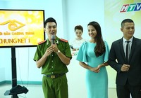 Lính cứu hỏa dự thi Người dẫn chương trình truyền hình 2015