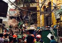 Hai người chết trong vụ sập biệt thự cổ