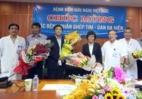 Hai bệnh nhân được ghép tạng 'xuyên Việt' xuất viện