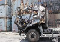 Điều tra vụ cháy xe tại cảng Trường Thọ
