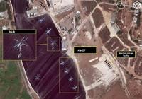 Máy bay Nga bắt đầu ném bom ở Syria