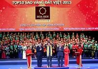 Nhiều doanh nghiệp lớn được vinh danh Sao Vàng Đất Việt 2015