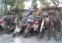 Xe tang vật thành đống sắt vụn