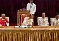 Tám nhóm Myanmar thỏa thuận ngừng bắn