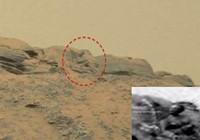 Đá giống tượng Phật trên sao Hỏa
