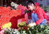 Nhộn nhịp thị trường ngày Phụ nữ Việt Nam