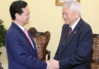 Thủ tướng Nguyễn Tấn Dũng tiếp bộ trưởng Ngoại giao Philippines