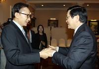 Việt Nam quan tâm mô hình phát triển kinh tế của Hàn Quốc