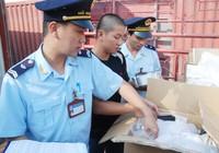Hải quan kiểm soát chặt hàng hóa cũ từ Trung Quốc