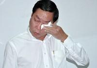 Giám đốc Sở Y tế TP.HCM khóc khi họp báo