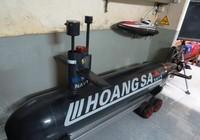 Tàu ngầm Hoàng Sa thử nghiệm thành công trong bể